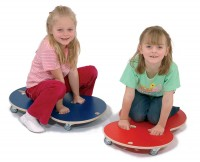 Rolletti Rollbrett für Kinder in rot oder blau