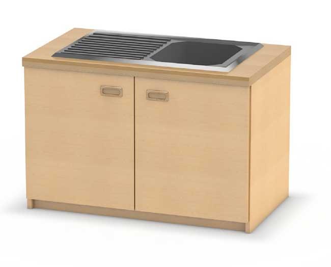 Perfekt Küchen Einzelmöbel Für Kinderküchen Von Kita Ausstatter.de |  Kita Ausstatter.de