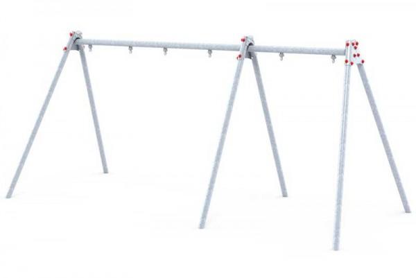 Schaukelgestell aus Stahl für 3 Schaukeln von Ledon®