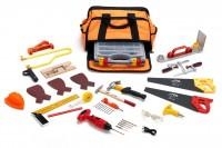 ToolKid Werkzeugtasche mit Kinder-Werkzeug - 18-teilig