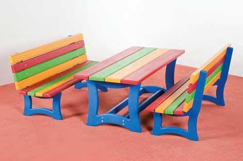 kinder gartenbank kinder gartenbank set in wanzleben with. Black Bedroom Furniture Sets. Home Design Ideas