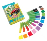Jolly X-Big Delta Fasermaler - 12 verschieden farbige Stifte in einem Kartonetui