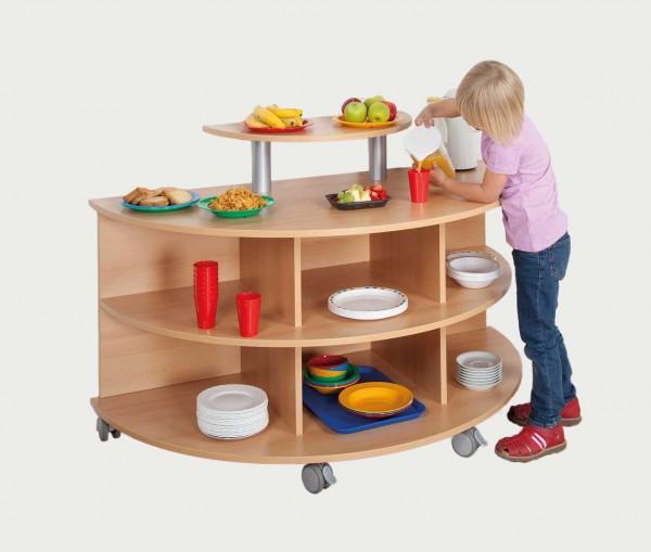 fahrbare frühstücksinsel | küchen-einzelmöbel | küchen-möbel ... - Fahrbare Küche