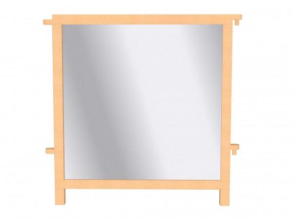 Raumteiler-Element mit Plexiglas-Füllung - 'Durchsichtiger' Raumteiler.