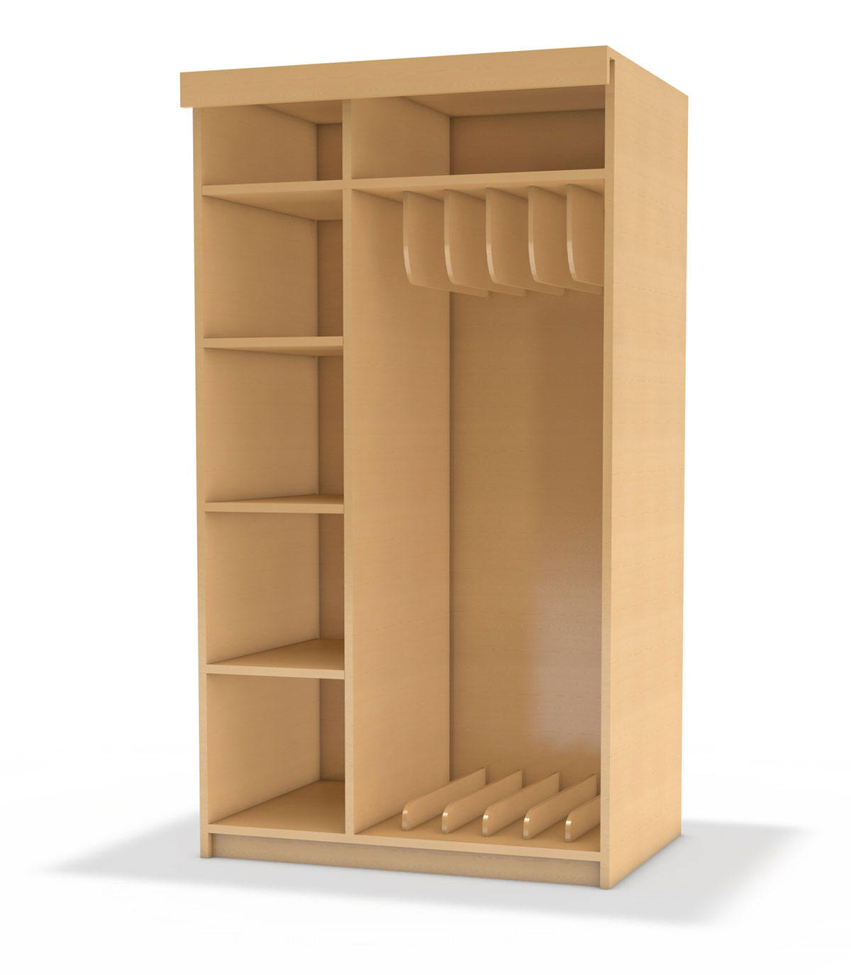 liegepolsterschrank in korpusbauweise korpus classic. Black Bedroom Furniture Sets. Home Design Ideas