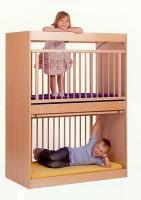 Krippenetagenbett für Kinder - ideal für Kita oder Kindergarten