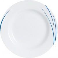 Hartglas-Geschirr Serie Toronto - Dessertteller Ø 19,5 cm in Blau