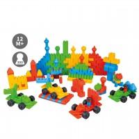 Poly-M TWINI Big Blocks - Sparset mit 300 Teilen für Kinder ab 1 Jahr