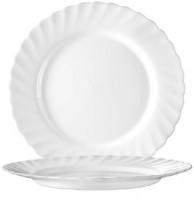 Serie Trianon - Ideal für Kita, Hort oder Schule - Speiseteller Ø 27,3 cmin weiß