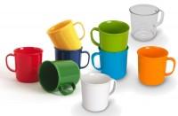 Henkelbecher aus Polycarbonat - Serie Kinderzeug in verschiedenen Farben und transparent