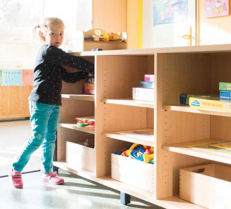 Schranke Raumteiler Und Aufbewahrungssysteme Fur Kita Kindergarten