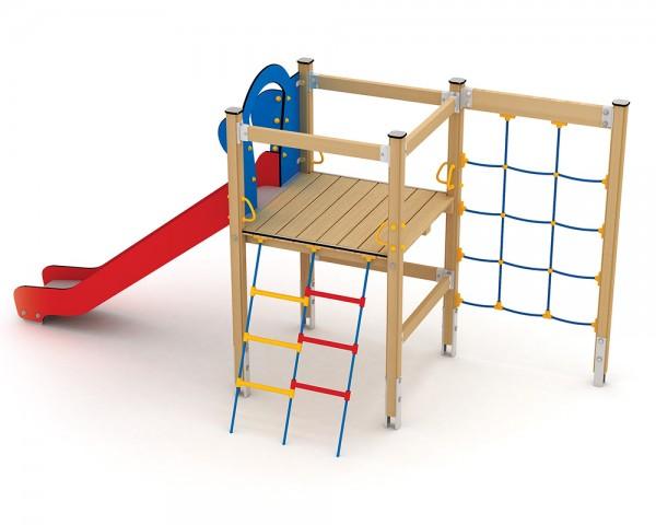 Klettergerüst Stahl : Ledon spielanlage geri mit kletternetz klettergerüst für