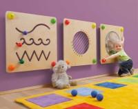 """Babypfad Wand-Sparset von Erzi - 3 Babypfad-Elemente zur Wandmontage: """"Spur"""", """"Gitarre"""" und """"Spiegel-Duo"""""""