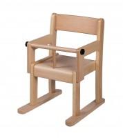 Sicherheits-Armlehnenstuhl - mit Kufen und T-Stück