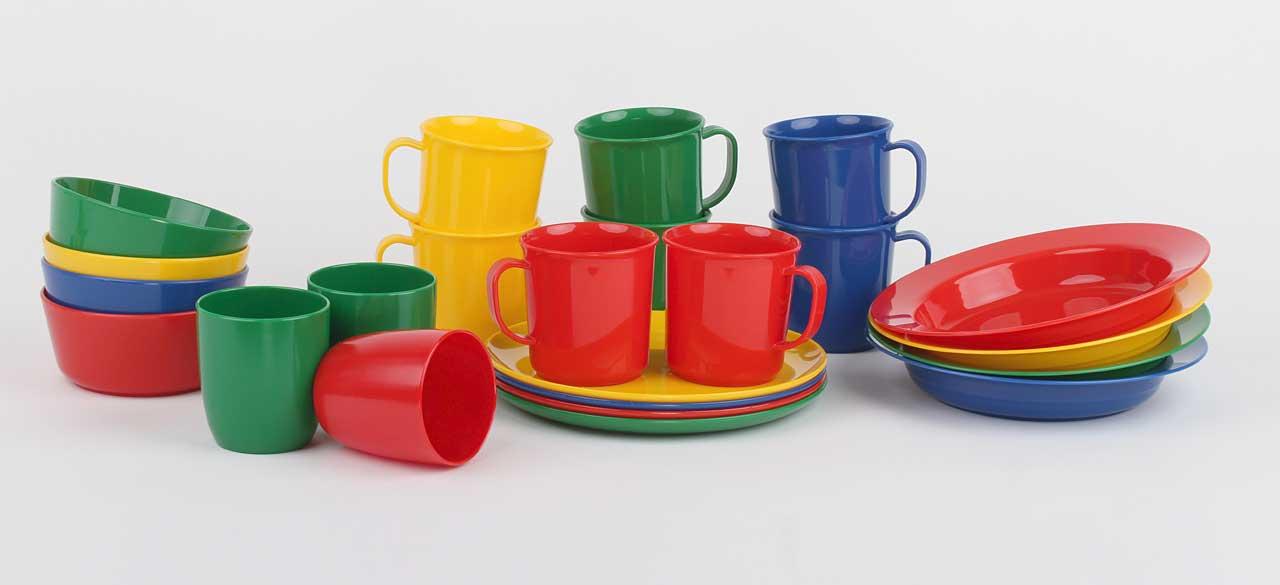 Geschirrserie-Kinderzeug-Polypropylen-Uebersicht