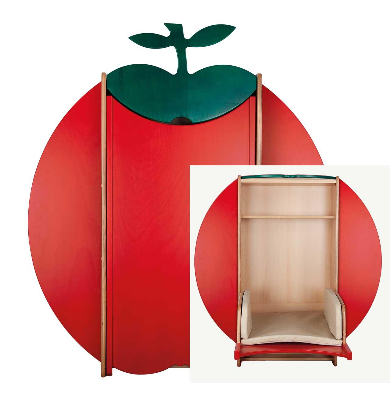 wandwickeltisch gro er wickelapfel kita. Black Bedroom Furniture Sets. Home Design Ideas