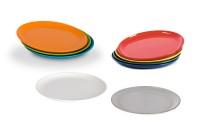 Dessertteller Ø 19 cm in verschiedenen Farben - Geschirr der Serie Kinderzeug aus Polycarbonat