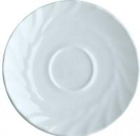 Serie Trianon - Ideal für Kita, Hort oder Schule - Untertasse in weiß