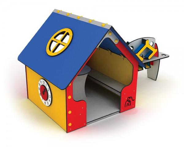Outdoor-Spielhaus Tulipan von Ledon® - wetterfestes Spielplatzhaus