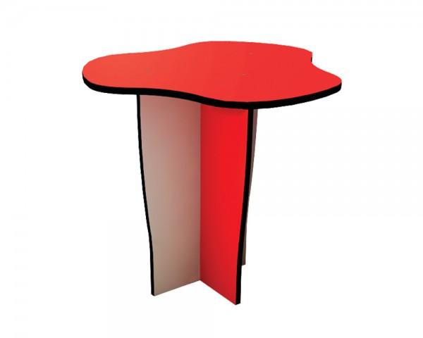 Outdoor-Tisch von Ledon® - Sandkastentisch in rot/grau