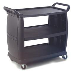 Servierwagen von CARLISLE in Kunststoff in schwarz