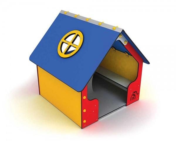 Outdoor-Spielhaus von Ledon® - wetterfestes buntes Haus für Kinder
