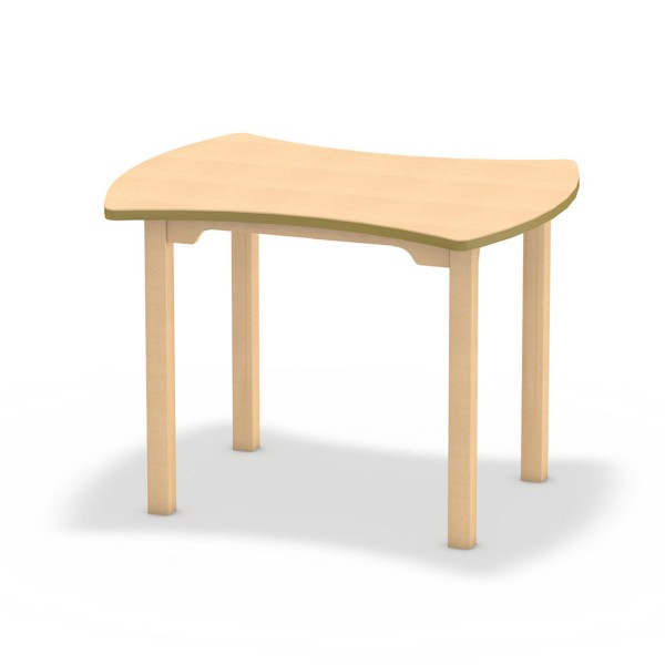 Tisch Connect - Tischplatte Dekor Buche