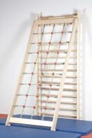 Kletternetz zum Einhängen in Sprossenwand - Lieferung ohne Sprossenwand und Fallschutz
