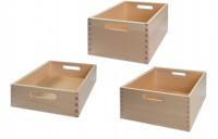 Materialkasten aus Buche Massivholz