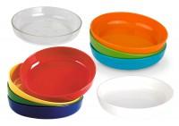 Dessertschale, Ø 13 cm, H 2,5 cm in verschiedenen Farben - Geschirr aus Polycarbonat - Kunststoffgeschirr Serie Kinderzeug