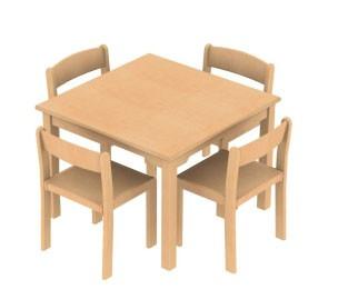 4er Tischgruppe Für Kinder In Kita Oder Kindergarten Kita