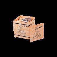 Kapla - 1.000er Holzkiste mit Deckel und Anleitungsheft