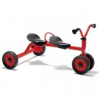 MINI VIKING Rutsch Dreirad für zwei Kinder von winther