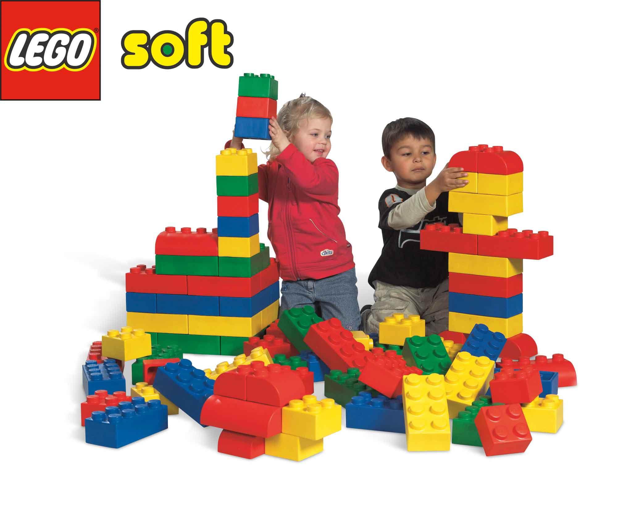 LEGO Soft Steine Set von kita ausstatter
