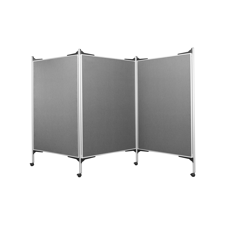 fahrbarer raumteiler pr sentationswand mobil kita. Black Bedroom Furniture Sets. Home Design Ideas