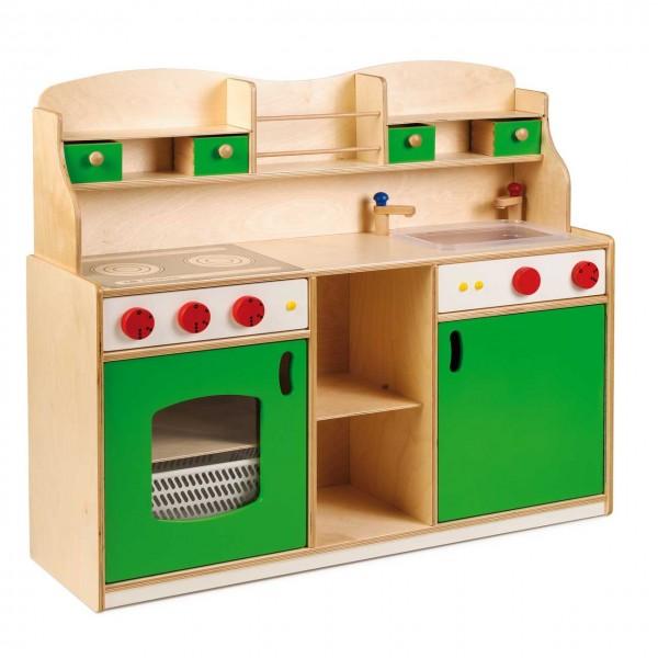 Premium-Spielküche aus Holz | Stabile Spielküche für Kinder | kita ...