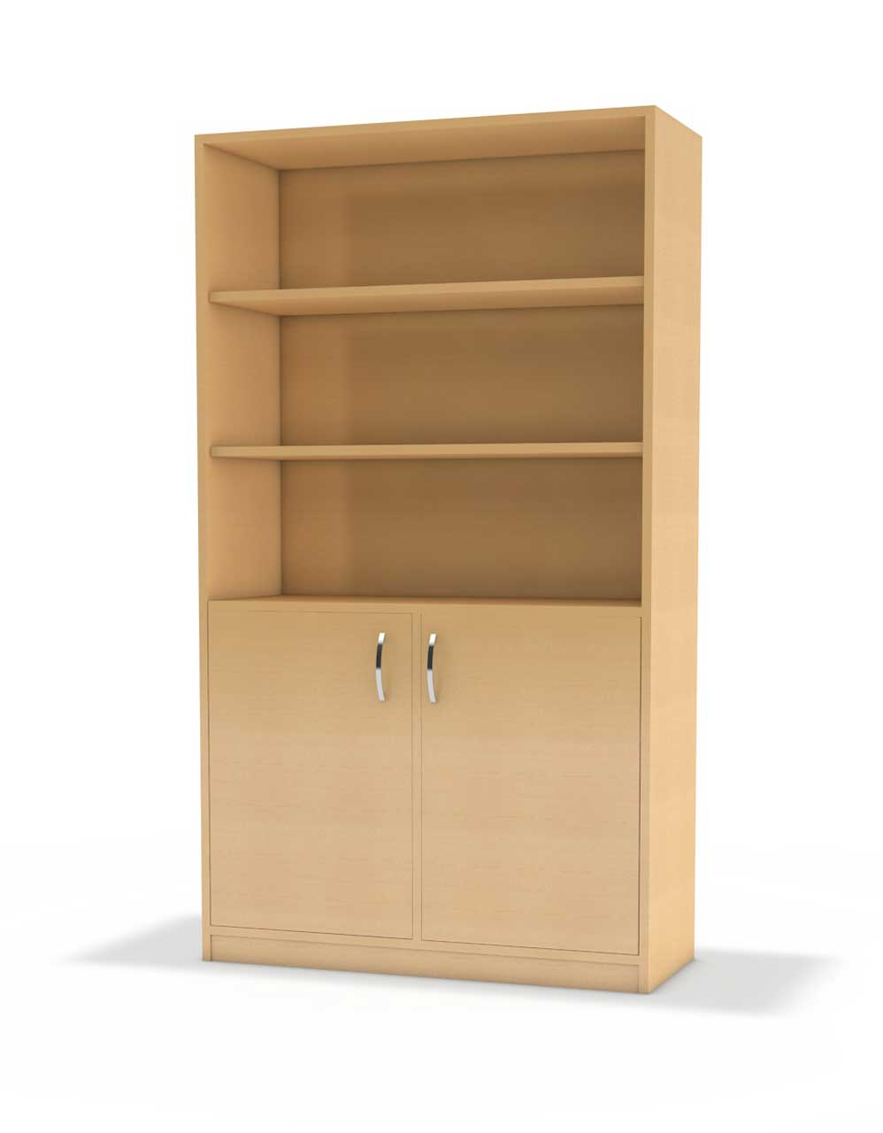 b ro hochschrank serie b nova unten 2 t ren oben regal kita. Black Bedroom Furniture Sets. Home Design Ideas